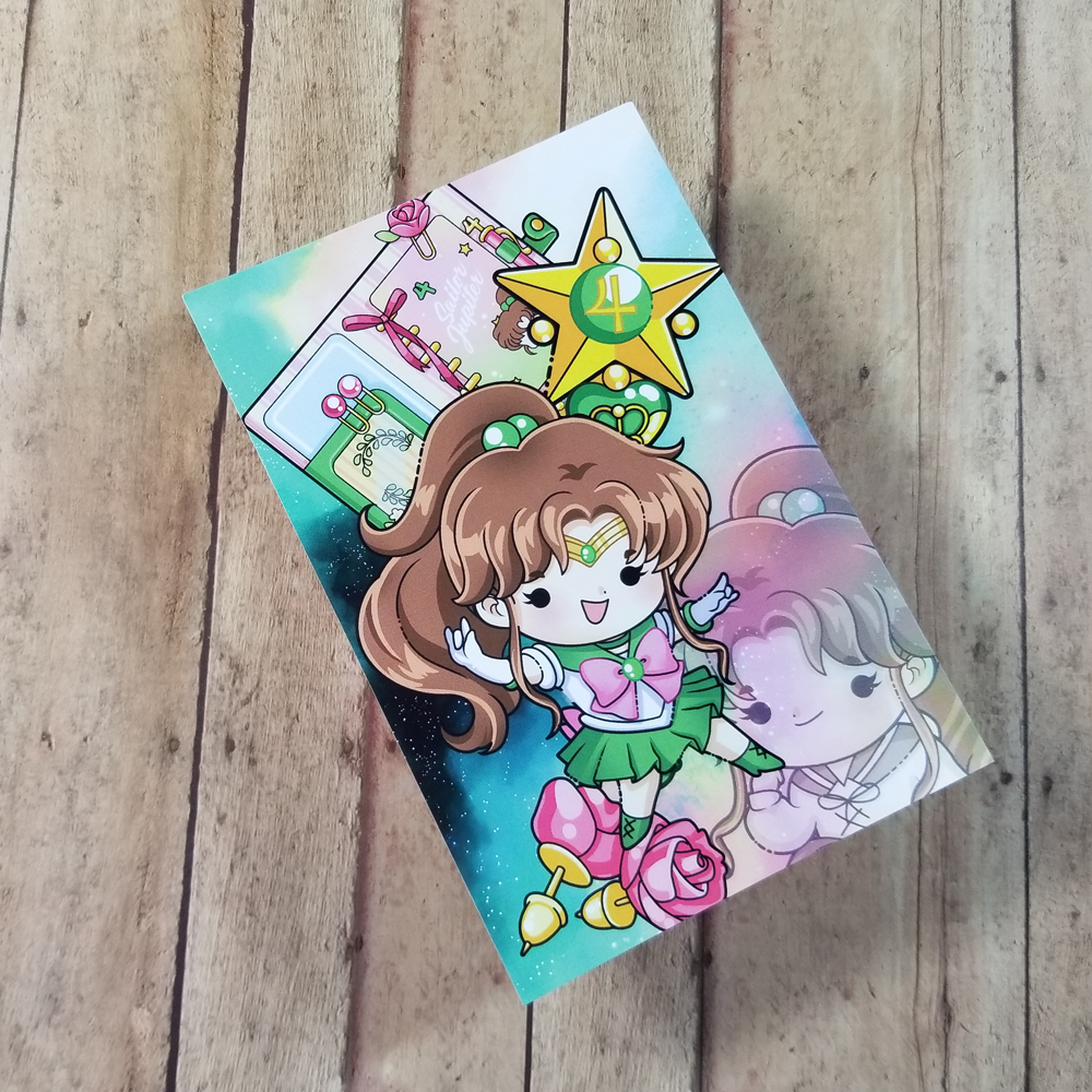 Sailor Jupiter Journaling/ Post Card
