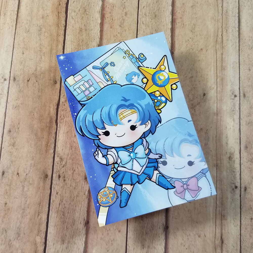 Sailor Mercury Journaling/ Post Card