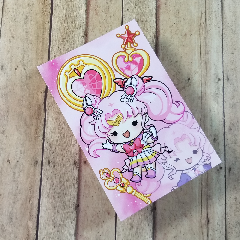 Sailor Chibi Moon Journaling/ Post Card
