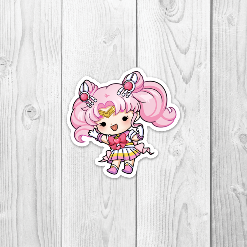 Sailor Chibi Moon Vinyl Decal