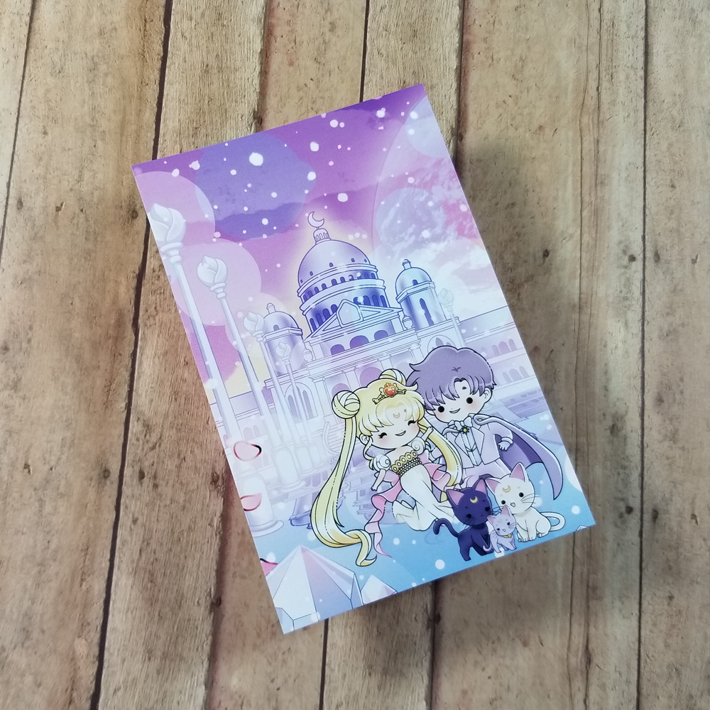 Moon Kingdom Journaling/ Post Card