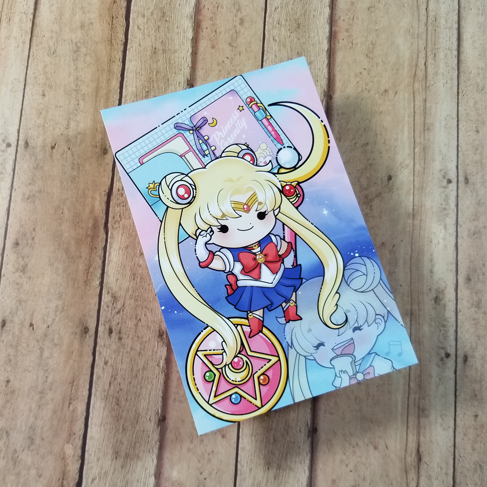 Sailor Moon Journaling/ Post Card