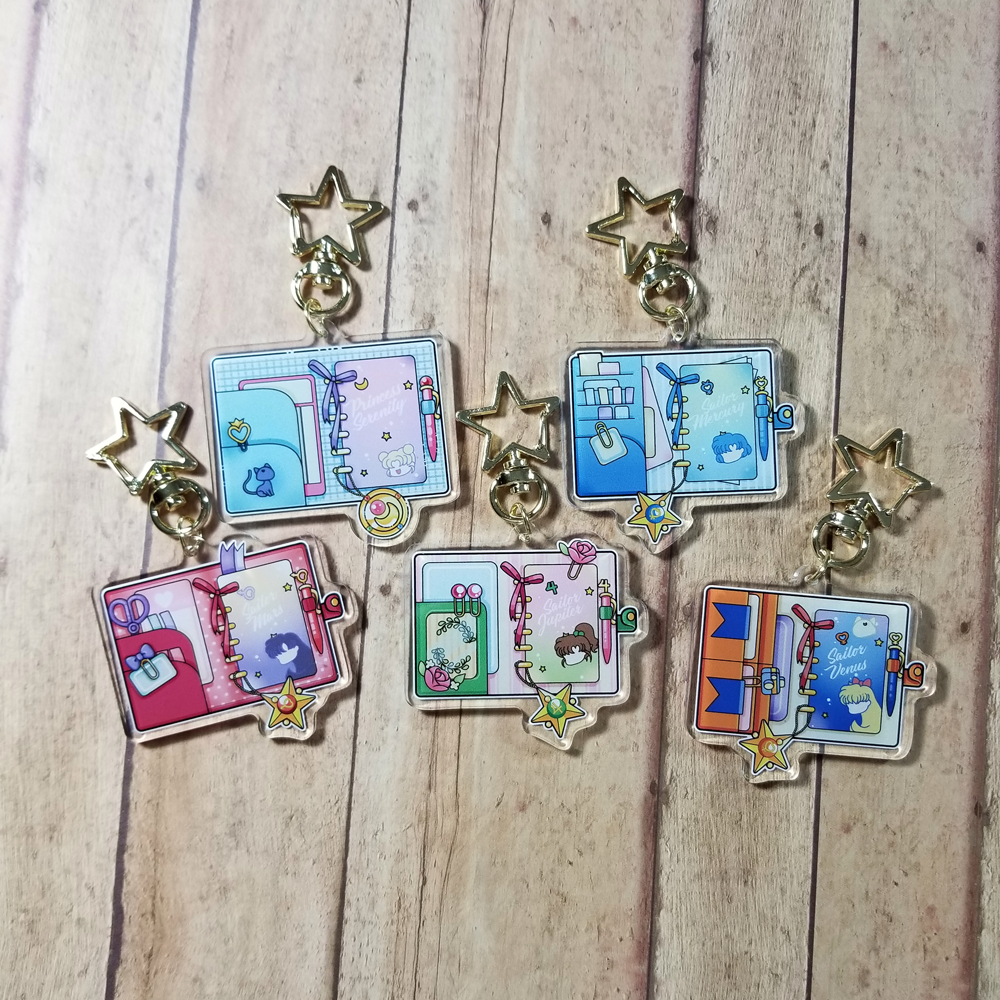 Sailor Scout Planner Charms