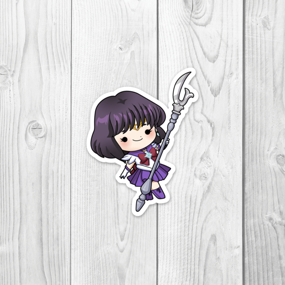 Sailor Saturn Vinyl Decal