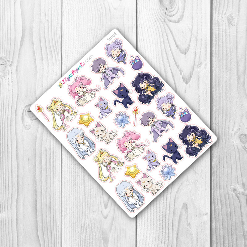 Sailor Moon Princess Stickers