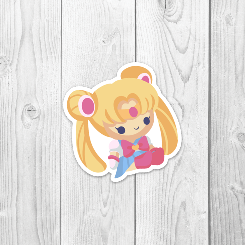 Sailor Moon Plushy Vinyl Decal