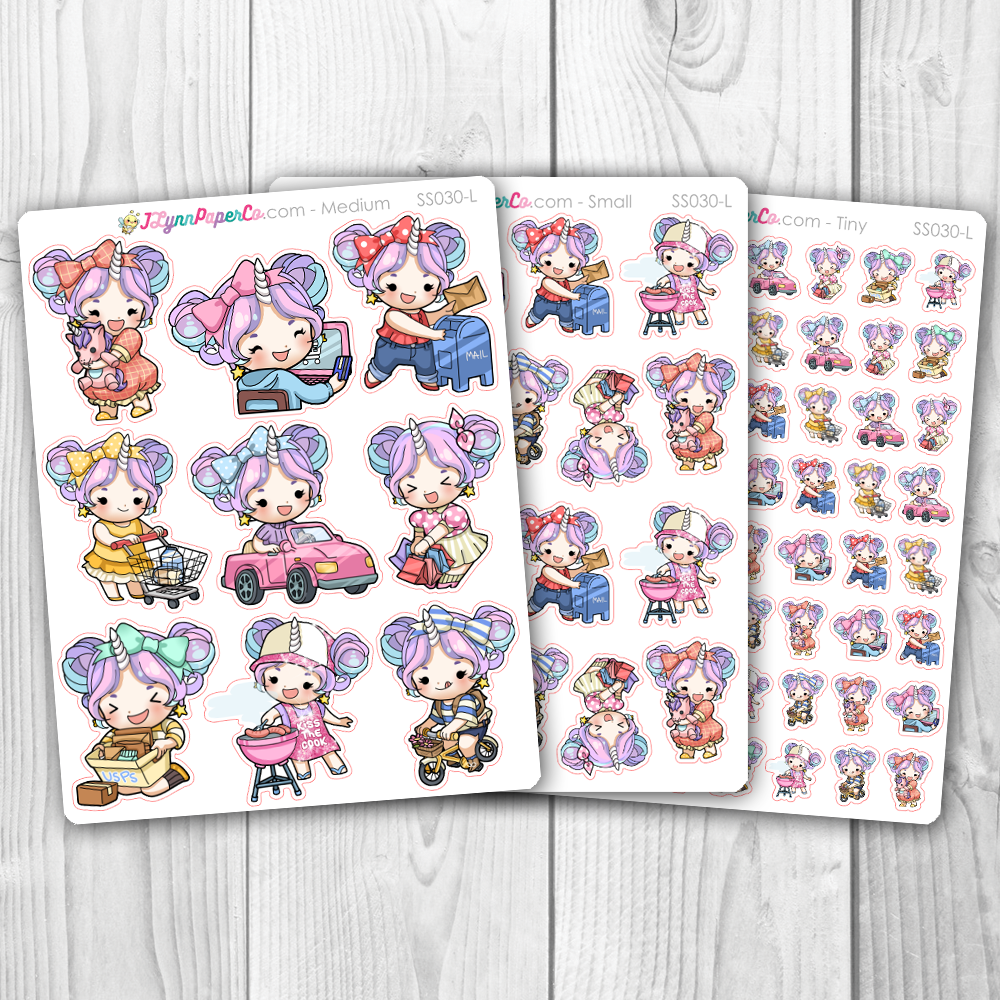 Starshine Variety Set 2 Character Stickers | SS030