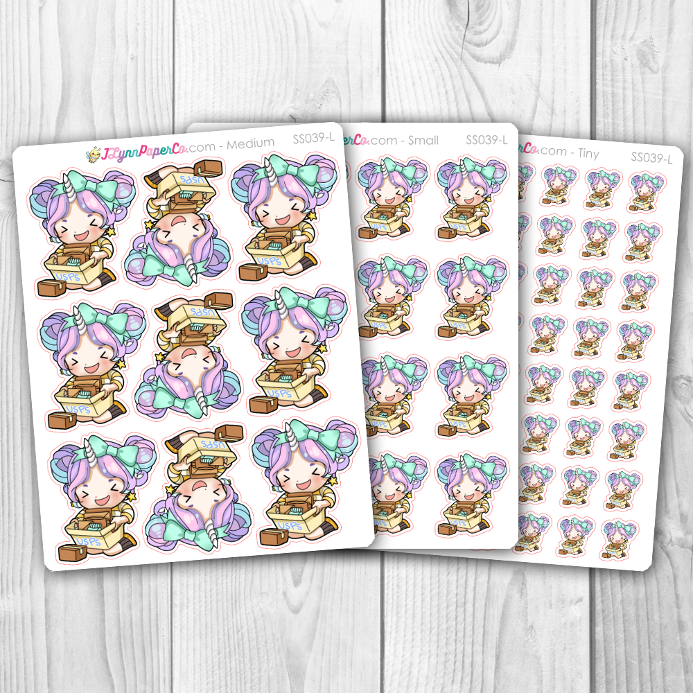Starshine Bulk Mail Character Stickers | SS039