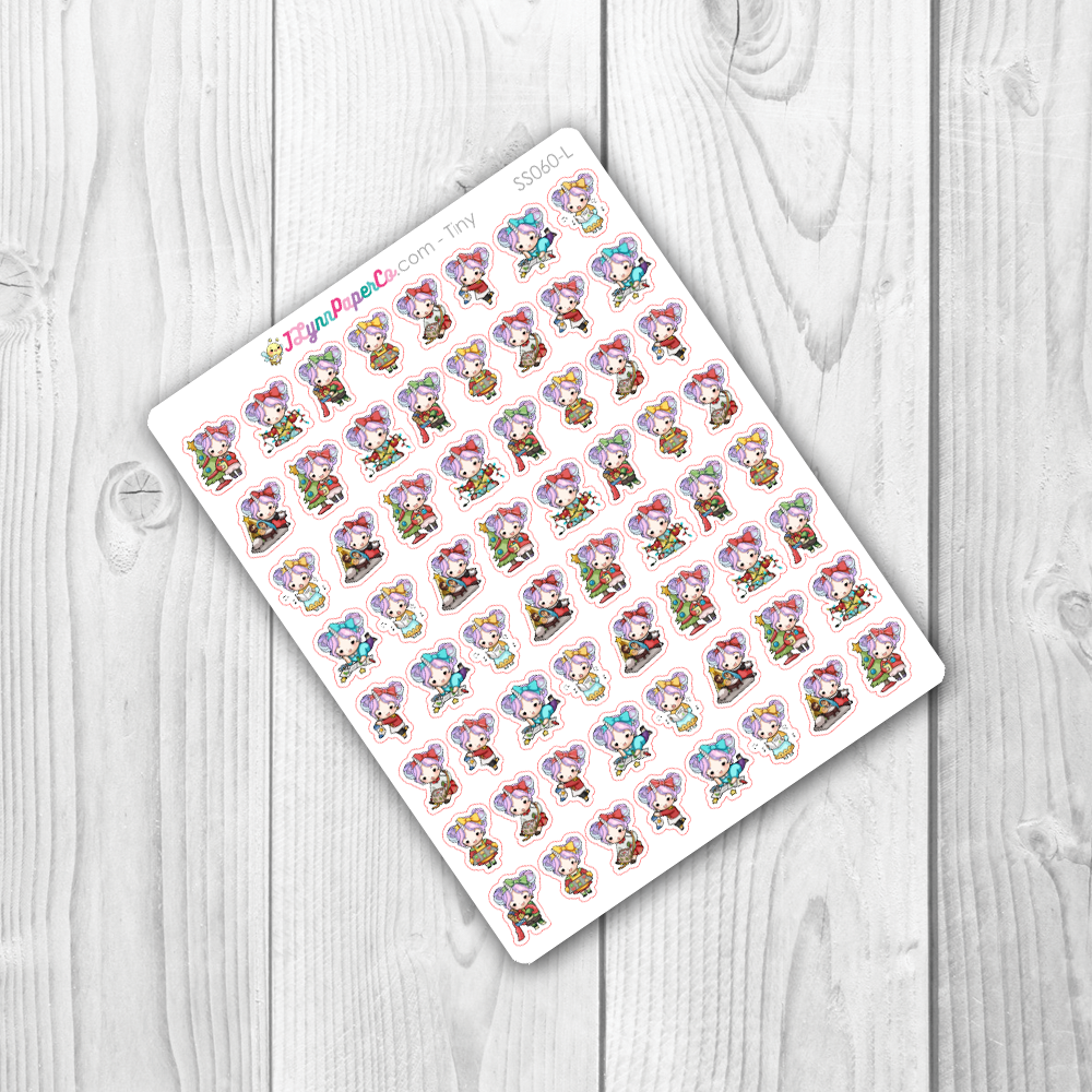 Starshine Christmas Variety Character Stickers | SS060