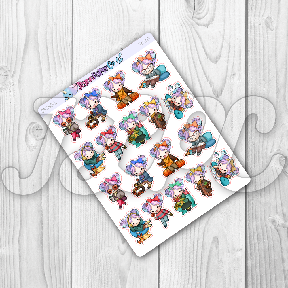 Starshine Fall Variety Vol. 2 Character Stickers | SS080