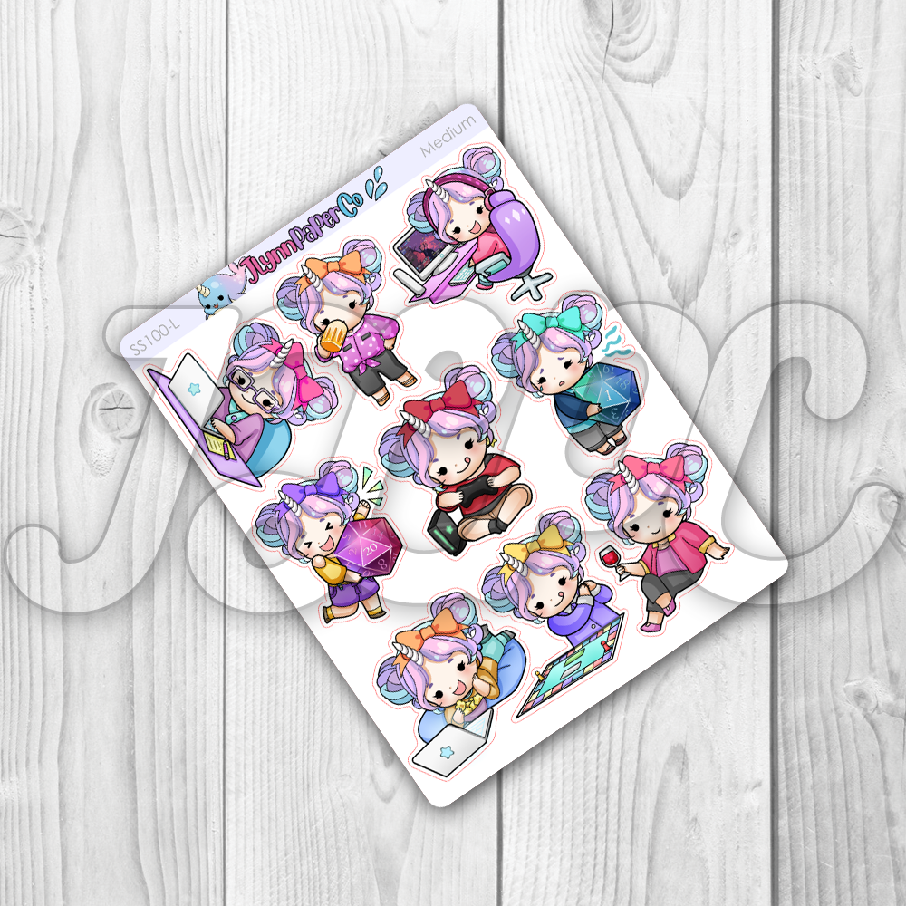 Starshine Variety Vol. 3 Character Stickers | SS100