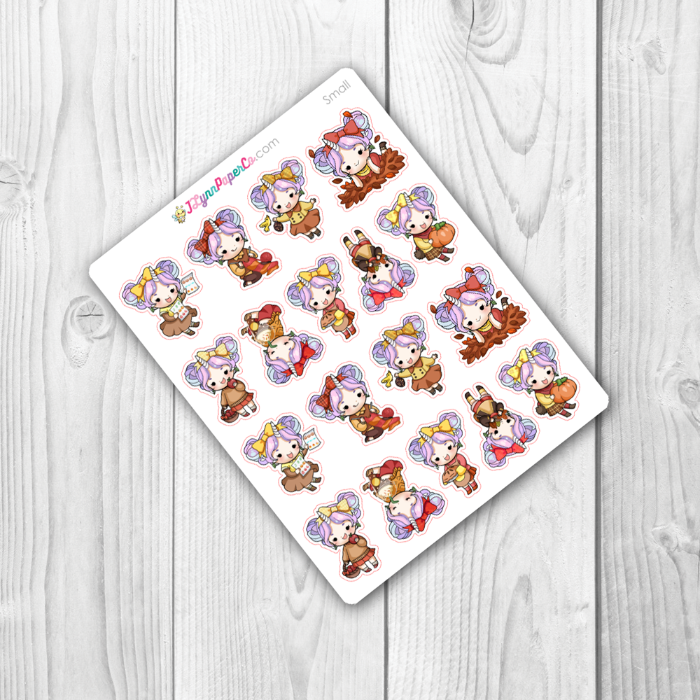 Starshine Fall Variety Character Stickers | SS011