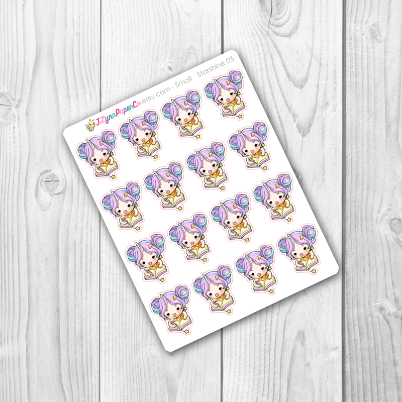 Starshine Planning/ Homework/ Writing Character Stickers | SS005
