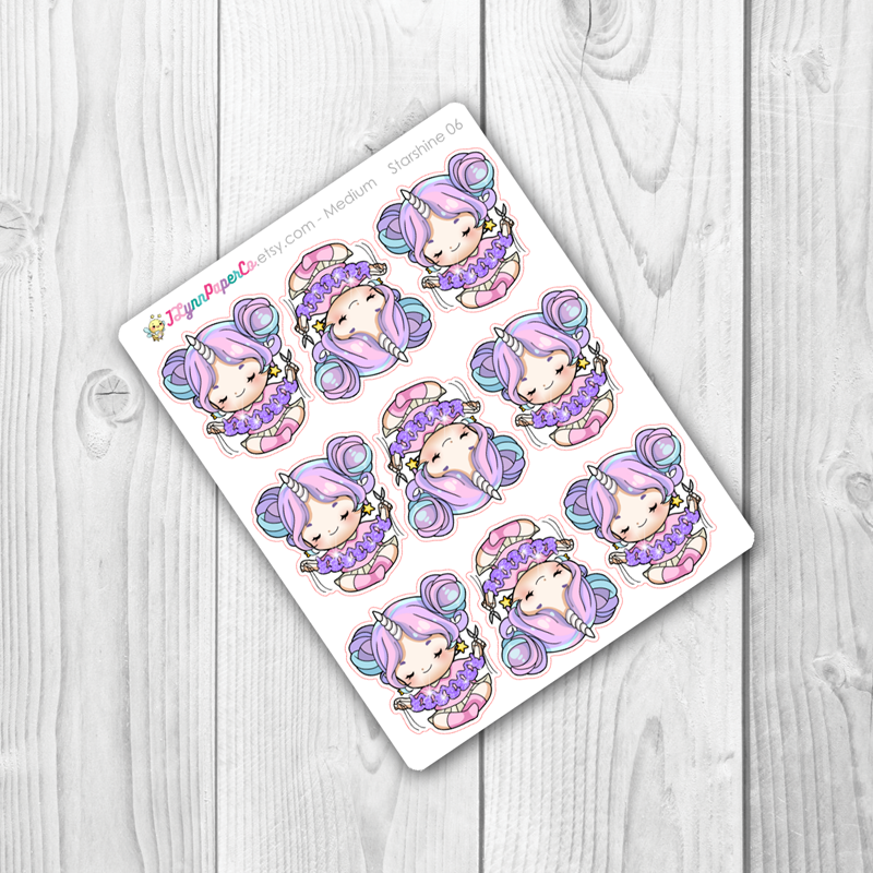 Starshine Crafting Character Stickers | SS006