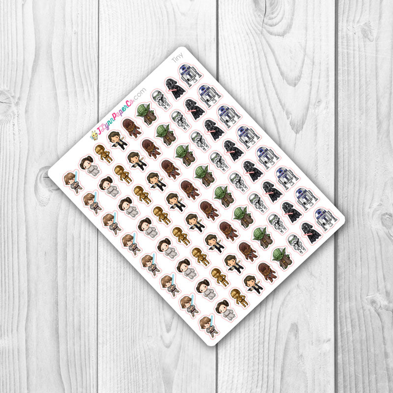 Space Heroes Character Stickers