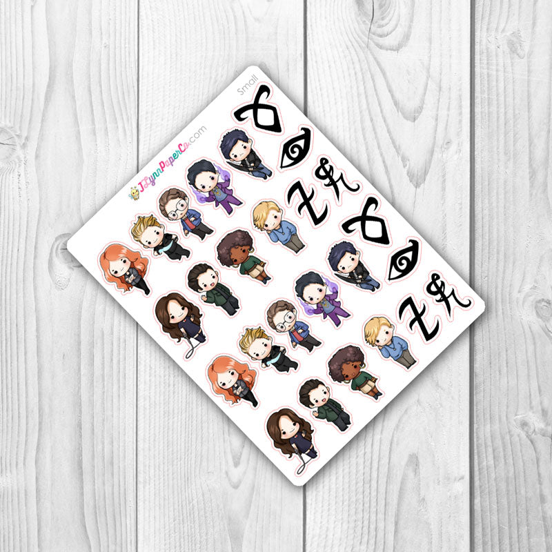 TMI Character Stickers