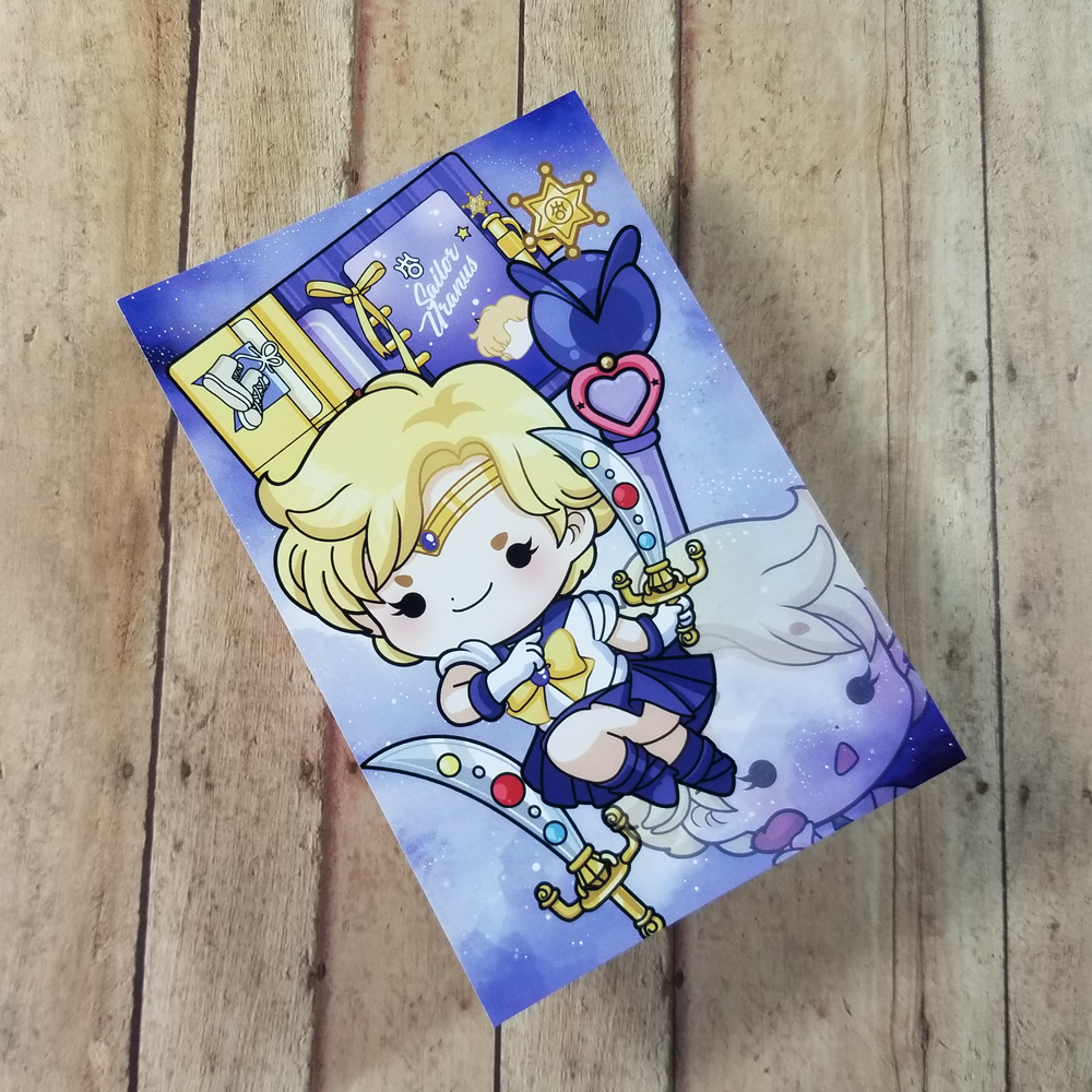 Sailor Uranus Journaling/ Post Card