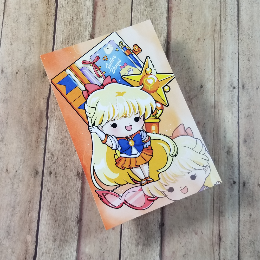 Sailor Venus Journaling/ Post Card