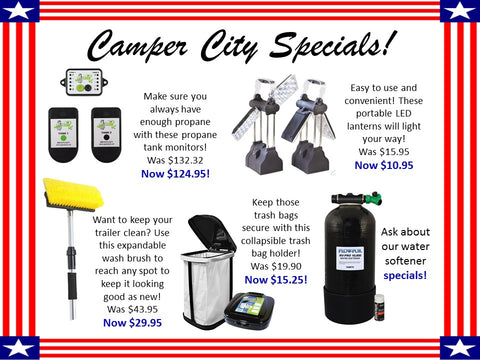 Camper City RV Parts Department Victoria, Texas