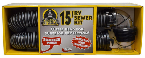 Silver Back RV Sewer Hose Kit