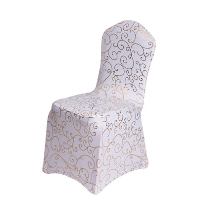 8 Designs 50PCS/LOT Printed Spandex Chair Covers