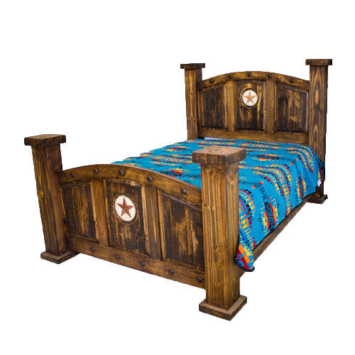 Rustic Mansion Bed