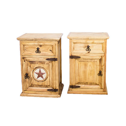 Small 1 Door 1 Drawer Night Stand