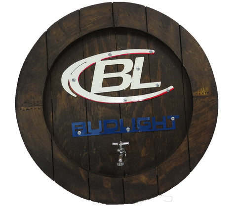 Bud Light Barrel Top
