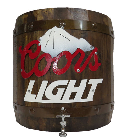Coors Light Half Barrel