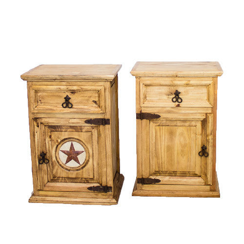 Large 1 Door 1 Drawer Night Stand