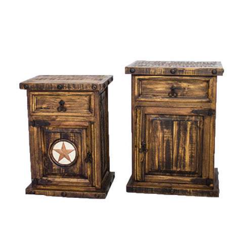 Small Rustic Night Stand/Large Rustic Night Stand