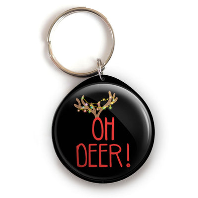 Oh Deer Keychain -  - Beyond The Scrubs