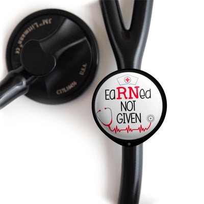 EaRNed Not Given Stethoscope ID Tag -  - Beyond The Scrubs