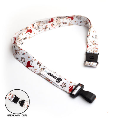 Christmas Expressions Breakaway Lanyard -  - Beyond The Scrubs