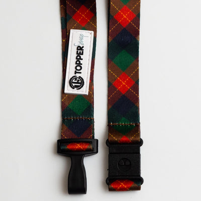 Christmas Plaid Breakaway Lanyard -  - Beyond The Scrubs