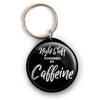 Caffeine Night Shift Keychain -  - Beyond The Scrubs