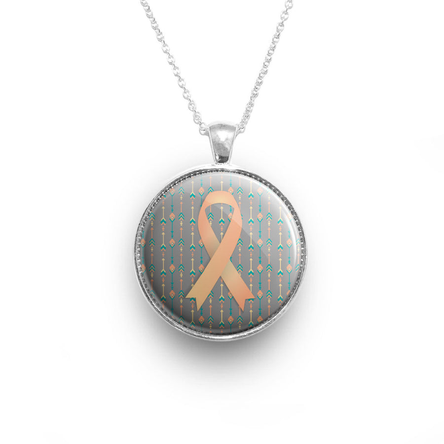 New necklaces beyond the scrubs uterine cancer ribbon necklace buycottarizona