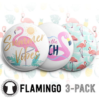 Flamingo 3-Pack -  - Beyond The Scrubs
