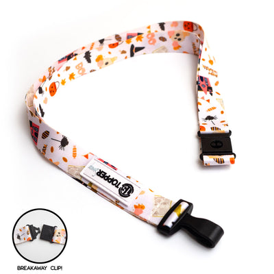 Halloween Mashup Breakaway Lanyard -  - Beyond The Scrubs