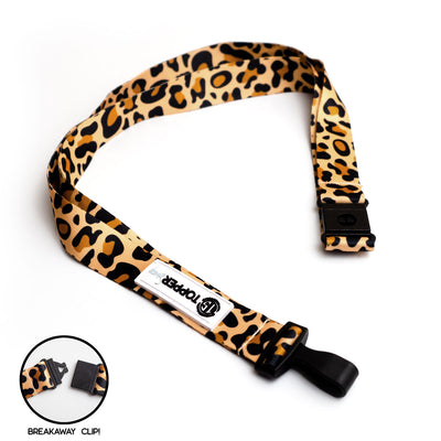 Leopard Print Breakaway Lanyard -  - Beyond The Scrubs