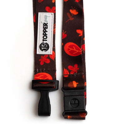 Falling Leaves Breakaway Lanyard -  - Beyond The Scrubs
