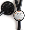 Obsessive Coffee Disorder Stethoscope ID Tag -  - Beyond The Scrubs