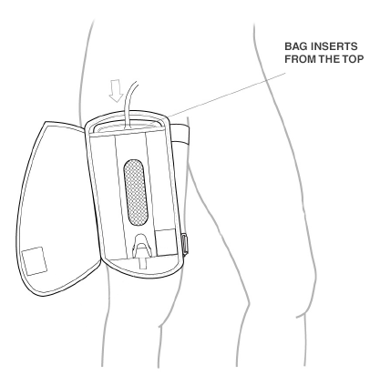 Urinary Leg Bag Cover - LEGG-INS by STYLEDWEL