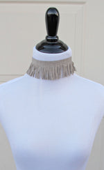 Fringe Choker - Grace and Edge Boutique