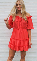 on island time dress [coral]