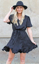Load image into Gallery viewer, southern sweetheart dress [black] - Grace and Edge Boutique