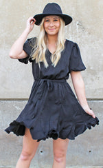 southern sweetheart dress [black]