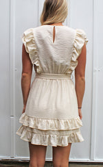 easy breezy dress [cream] - Grace and Edge Boutique