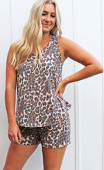 born to be wild set - brown - Grace and Edge Boutique