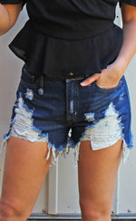 summertime screamin shorts [dark denim]